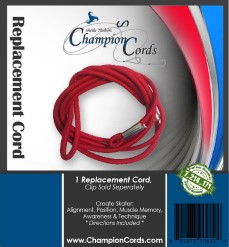 New!!! Replacement Cords ONLY - Red Bungee
